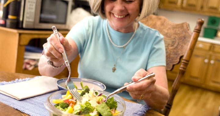 Menopause relief through diet
