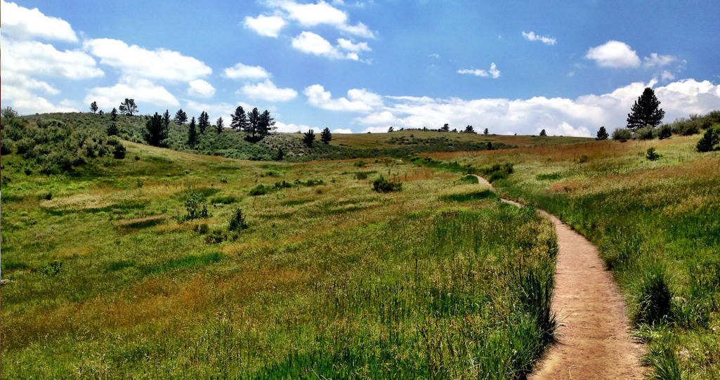 Fort Collins, Colorado, empty hiking trail